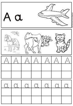 Alphabet Tracing, Greek Alphabet, Preschool Education, Teaching Kids, Writing Activities, Preschool Activities, Greek Writing, Earth Science Lessons, Learn Greek