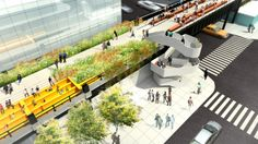 Phase three of NYC's High Line. >> This is awesome!