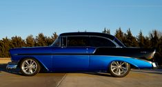 Built with insane attention to details and a serious budget this 1956 Chevy BelAir restomod is a truly one of a kind hot rod that will make your knees go weak!