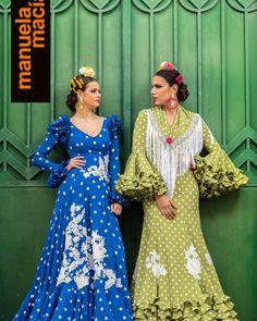 Colección 2019 Manuela Macías Moda Flamenca Flamenco Skirt, Belly Dance, Dresses With Sleeves, Halloween, Long Sleeve, Skirts, Fashion, Templates, Outfits