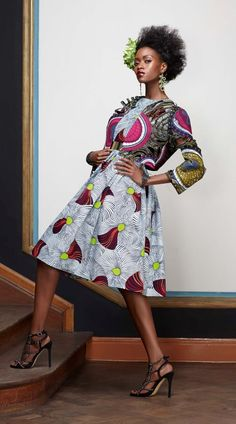 Vlisco Splendeur collection ~African Prints, African women dresses, African fashion styles, african clothing ~DK