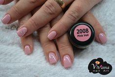 Pink Veil | Bio Sculpture Gel Glam Nails, Pink Nails, My Nails, Bio Sculpture Gel Nails, Sculpture Ideas, Uv Gel Nails, Gel Color, Mani Pedi, Gel Polish