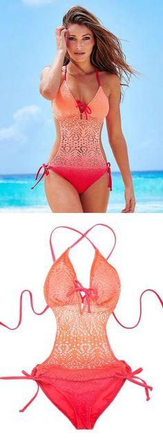 Adore Me's new Swim Collection ♥ Summer Wear, Summer Outfits, Cute Outfits, Bikinis, Bikini Swimwear, Lingerie, Beach Attire, Cute Bathing Suits, Summer Swimwear