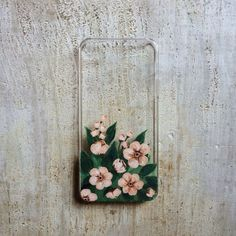 Items similar to Small Pink Blossoms iPhone 5 or case on Etsy - lol . - Items similar to Small Pink Blossoms iPhone 5 or case on Etsy – lol 2 - Art Phone Cases, 5s Cases, Iphone Cases, Iphone 5, Coque Iphone, Diy Phone Case Design, Floral Iphone Case, Accessoires Iphone, Aesthetic Phone Case