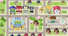 preschool mapping fun - Google Search