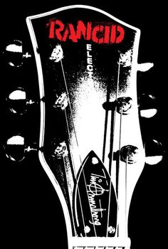 Rancid guitar logo