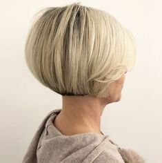 Short Bob For Thick Straight Hair