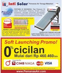 Promo pemanas air tenaga surya
