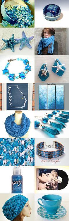 True Blue by Carla on Etsy--Pinned with TreasuryPin.com