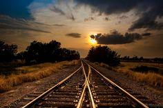 Radiant Rail by Jeremy Oliver on 500px