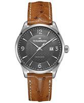 Hamilton Men's Swiss Automatic Jazzmaster Viewmatic Light Brown Ostrich Leather Strap Watch 44mm H32755851