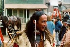 Larry Sellers as, Cloud Dancing. Behind the scenes of, Dr. Quinn Medicine Woman