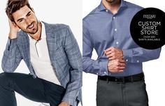 Custom Suits Houston, custom made shirts Houston TX. For your perfect custom fit Call us now or stop by (713) 626-1234 Rudy Festari - Best custom shop in Houston!