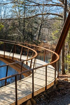 Henry David Thoreau Footbridge | Gray Organschi Architecture