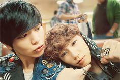 sungjae and ilhoon Yook Sungjae, Minhyuk, Namjoon, Taehyung, Fans Cafe, Kpop Boy, My Boyfriend, Cute Guys, Boy Groups