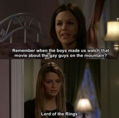 Gay guys in the mountain lord of the rings Lo funny comedy hahah