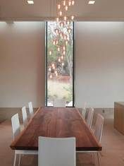 Minimal Dining Space, ample lighting.   5800 Gibbs Hollow, Austin, TX 78730 - Gottesman Residential Real Estate