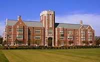 Seigie Hall shared by the School of Law and the College of Arts and Sciences Washington University in St. Louis