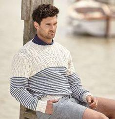 Мужской пуловер из хлопка Corton http://vjazhi.ru/muzhskaya-odezhda/pulovery/muzhskoj-pulover-corton-iz-xlopka.html