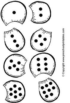 www.preschoolprintables.com / File Folder Game/ Pizza