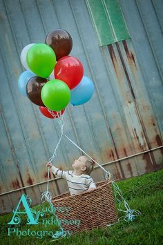 Picture ideas for his birthday pictures.