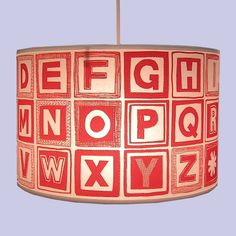 this lampshade would be so fun in a kids play room!