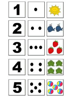 Kindergarten Math Worksheets, Preschool Learning Activities, Preschool Activities, Teaching Kids, Kids Learning, Kids Educational Crafts, Numbers Preschool, Learning Numbers, Montessori Math