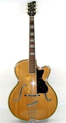 Very rare Georg riederle archtop Music Guitar, Guitar Amp, Archtop Acoustic Guitar, Beautiful Guitars, Vintage Guitars, Music Stuff, Bass, German, Music Instruments