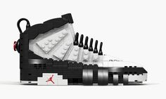 Tom Yoo is back with another popular sneaker reconstructed in LEGO, now taking on the OG white, true red and black iteration of the Air Jordan 9. This particular colorway was the first Air Jordan released after MJ surprisingly gave …