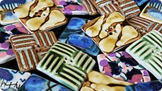 Incomparable buttons - hand painted buttons by women in South Africa