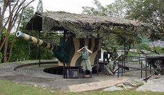 "Fort Siloso is the sole restored coastal gun battery from the 12 such batteries which made up ""Fortress Singapore"" at the start of World War II. #Singapore, #history, #fort, #WWII, #attraction, #landmark"