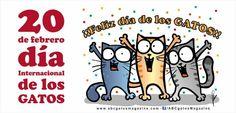 Felíz día internacional de los gatos =♥.♥=