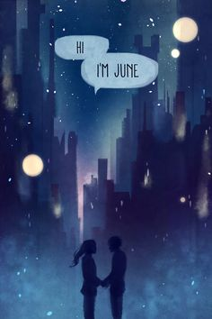This makes me so sad : Hey a day in June. :) Wish June's birthday was in June cause then they would've re-met during a day in June.