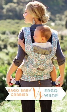 d188fbba2c9 Are you a baby wrap or standard carrier person  We have compiled a pro s  and con s list for the ergo baby carrier vs ergo wrap to help!