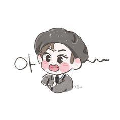 Kpop Drawings, Cute Drawings, Dreamcatcher Wallpaper, Happy Pills, Digital Art Tutorial, Good Notes, Foto Jungkook, Kpop Fanart, Bts Wallpaper