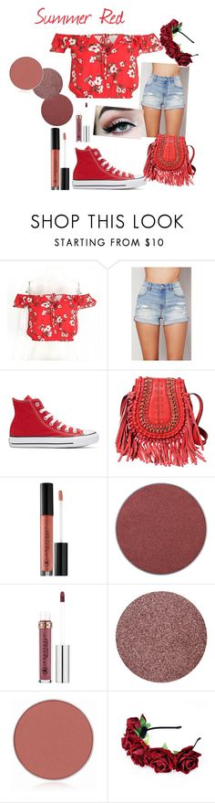 """Untitled #329"" by bitty-junkkitty ❤ liked on Polyvore featuring Dalyn, PacSun, Converse and Anastasia Beverly Hills"