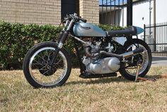 Triumph Racer -'Stiffy' - Pipeburn - Purveyors of Classic Motorcycles, Cafe Racers & Custom motorbikes