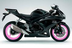 Pink And Black Motorcycle | ... this helps. also i dont really care for the pink wheels. just my .02