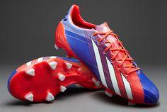 adidas Football Boots - adidas adizero F50 TRX FG Synthetic - Firm Ground - Soccer Cleats - Turbo-Blast Purple-White