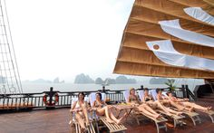 Trip Included: Shuttle Bus transfer from hotel in Hanoi-Halong Bay-Hanoi. Round Trip pick up from your hotel. Accommodation on Board: Private Cabin with seaview window, hot water, western toilet style & Air-Conditioner like 5 star hotel in the sea! Vietnam Tours, Best Cruise, Round Trip, 5 Star Hotels, Touring, Kayaking, Photo Galleries, Luxury, Classic