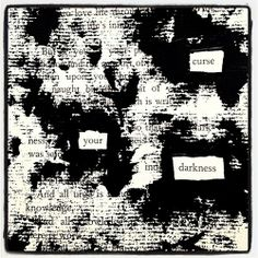 Return The Favor: Make Blackout Poetry, Blackout Poetry, Poetry