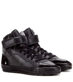 Étoile Bessy black leather sneakers