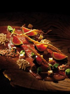 Peter Tempelhoff, The Greenhouse at The Cellars-Hohenort (Cape Town)  COPYRIGHT: Opulent Living Magazine Living Magazine, Test Kitchen, Food Plating, Real Food Recipes, Strawberry, Beef, Dishes, Fruit, Cape Town
