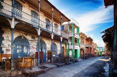 The streets of Jacmel, Haiti's culture capital. Image by Viran De Silva