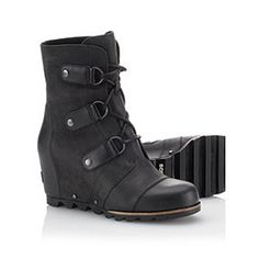 SOREL | Women's Joan of Arctic Wedge™ Mid Boot. I wish I could afford these because they look SO WARM.