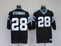 Panthers  28 Jonathan Stewart Black Stitched NFL Jersey 83d16a3fe