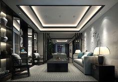 Interior Ceiling Design, House Ceiling Design, Ceiling Design Living Room, Bedroom False Ceiling Design, Master Bedroom Design, Interior Design Living Room, Living Room Designs, Bungalow House Design, House Front Design