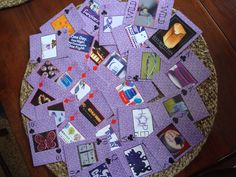 Deck of cards I made with Heritage Makers for Relay For Life!  www.christycave.com or christycave@verizon.net