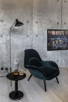 Buy Swoon armchair from Space Copenhagen for Fredericia at Connox Shop. Copenhagen Design, Space Copenhagen, Danish Furniture, Home Furniture, Furniture Design, Sofa Chair, Ikea Hacks, Decoration, Designer