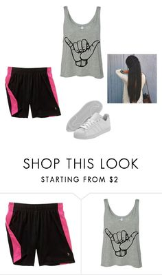 """Sans titre #4375"" by heidi-samoyau ❤ liked on Polyvore featuring Danskin and adidas"